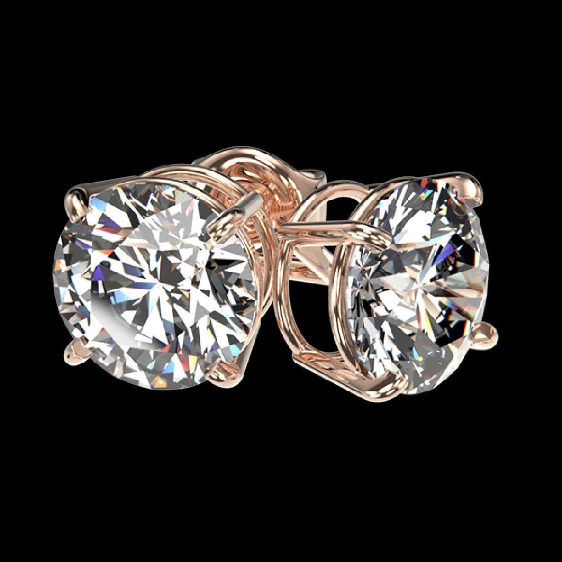 2.09 CTW Certified H-SI/I Quality Diamond Solitaire - 3