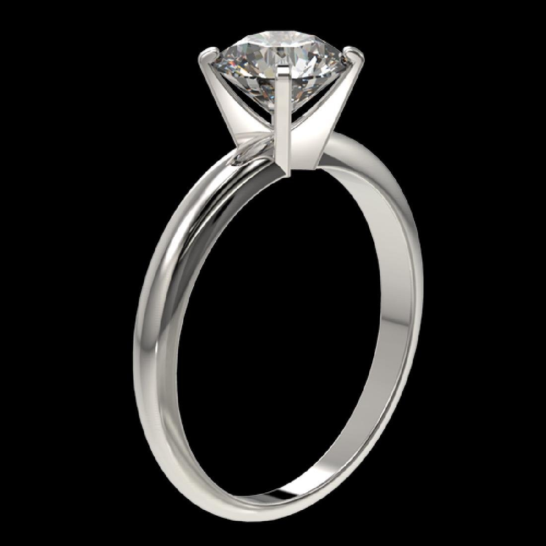 1.50 CTW Certified H-SI/I Quality Diamond Solitaire - 2