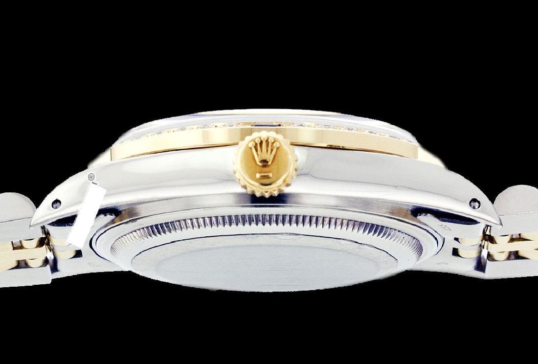 Rolex Ladies Two Tone 14K Gold/ss, Diam Dial & - 3
