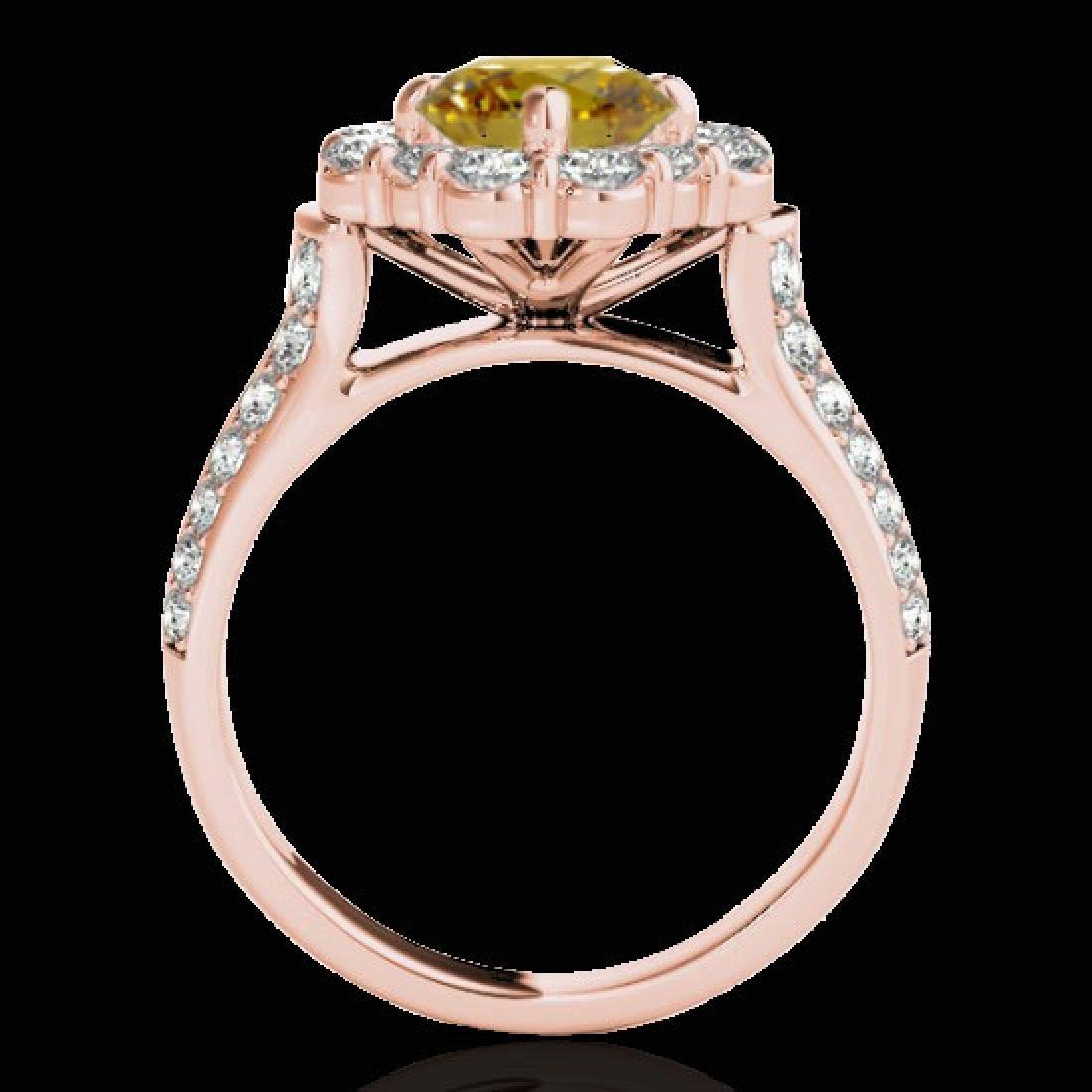 2.81 CTW Certified SI/I Fancy Intense Yellow Diamond - 2