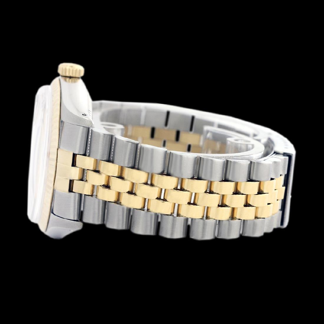 Rolex Men's Two Tone 14K Gold/SS, QuickSet, Diamond - 4