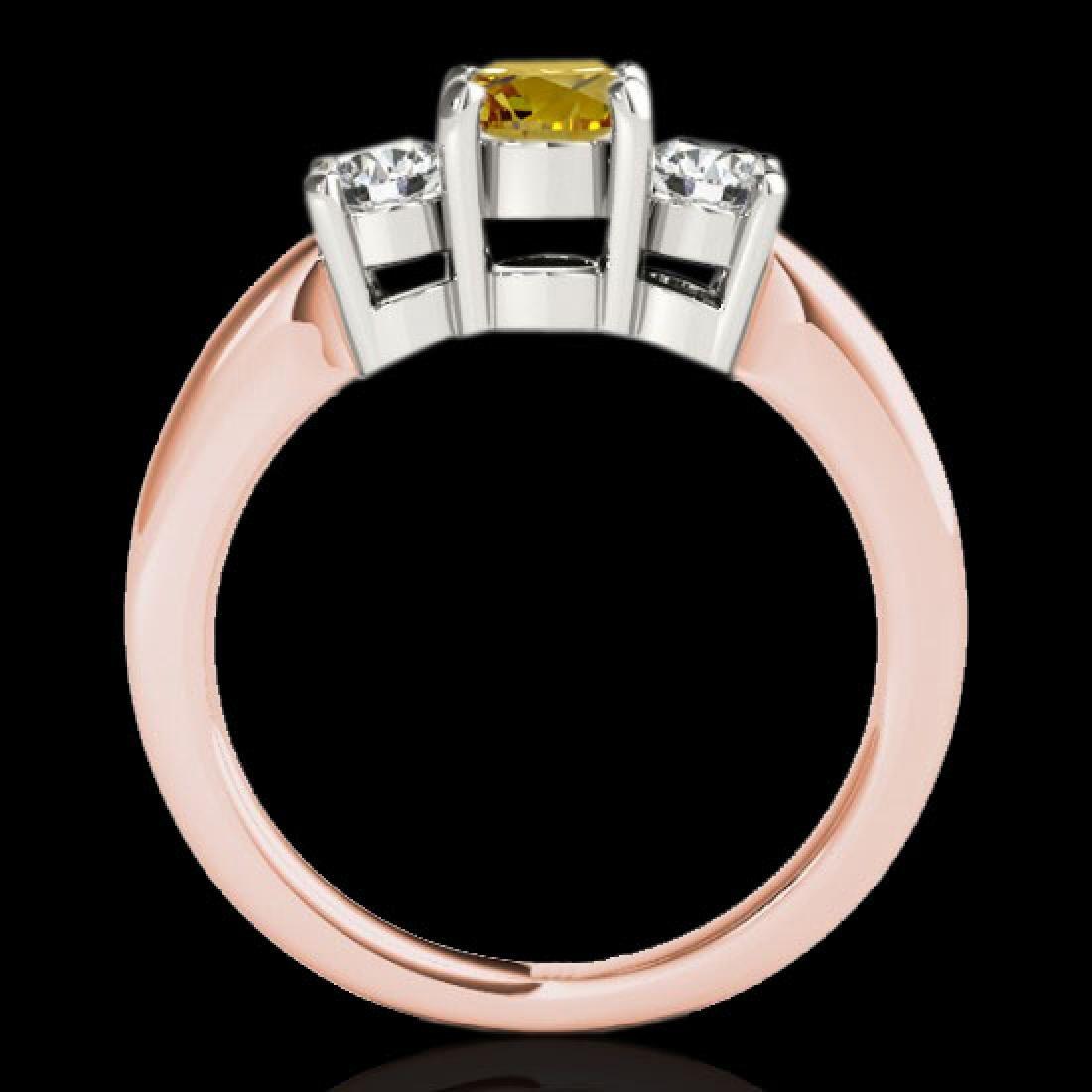 2 CTW Certified SI/I Fancy Intense Yellow Diamond 3 - 2