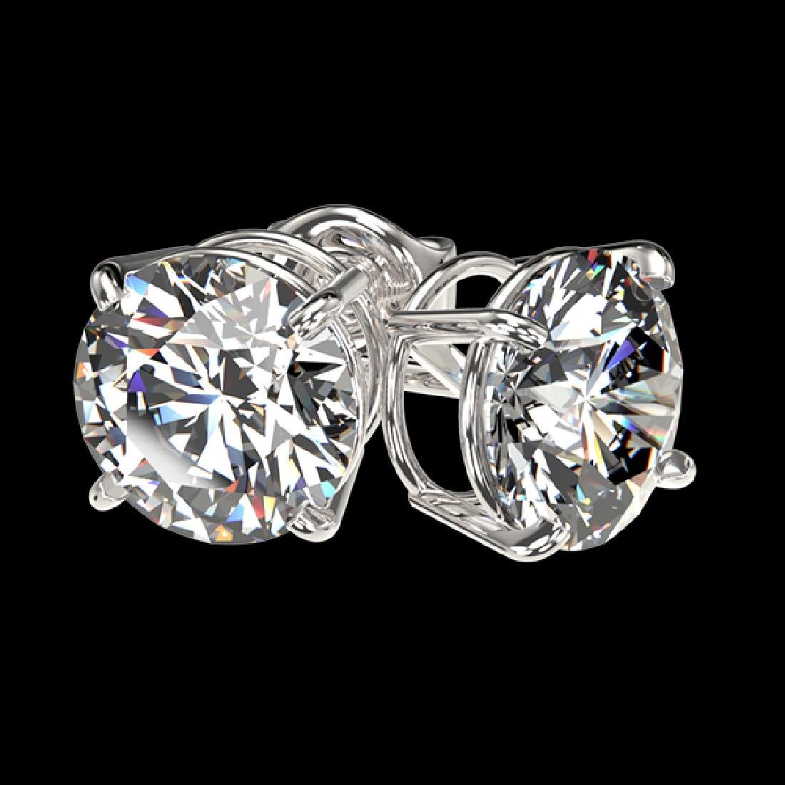 2.11 CTW Certified H-SI/I Quality Diamond Solitaire - 3