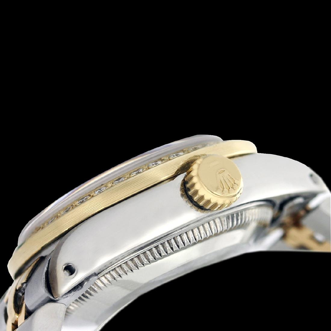 Rolex Ladies Two Tone 14K Gold/SS, Arabic Dial with - 3