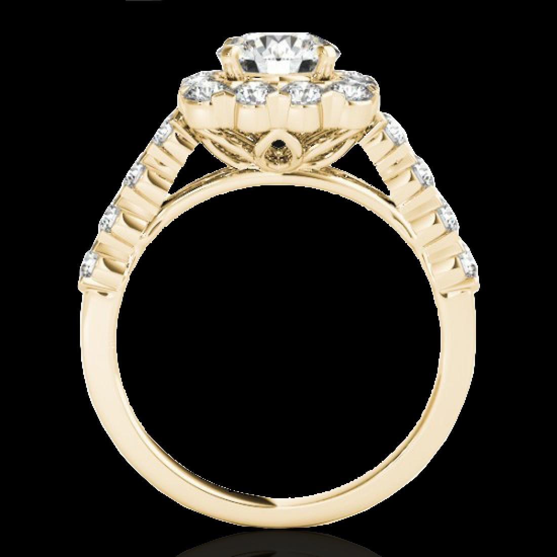 2.5 CTW H-SI/I Certified Diamond Solitaire Halo Ring - 2