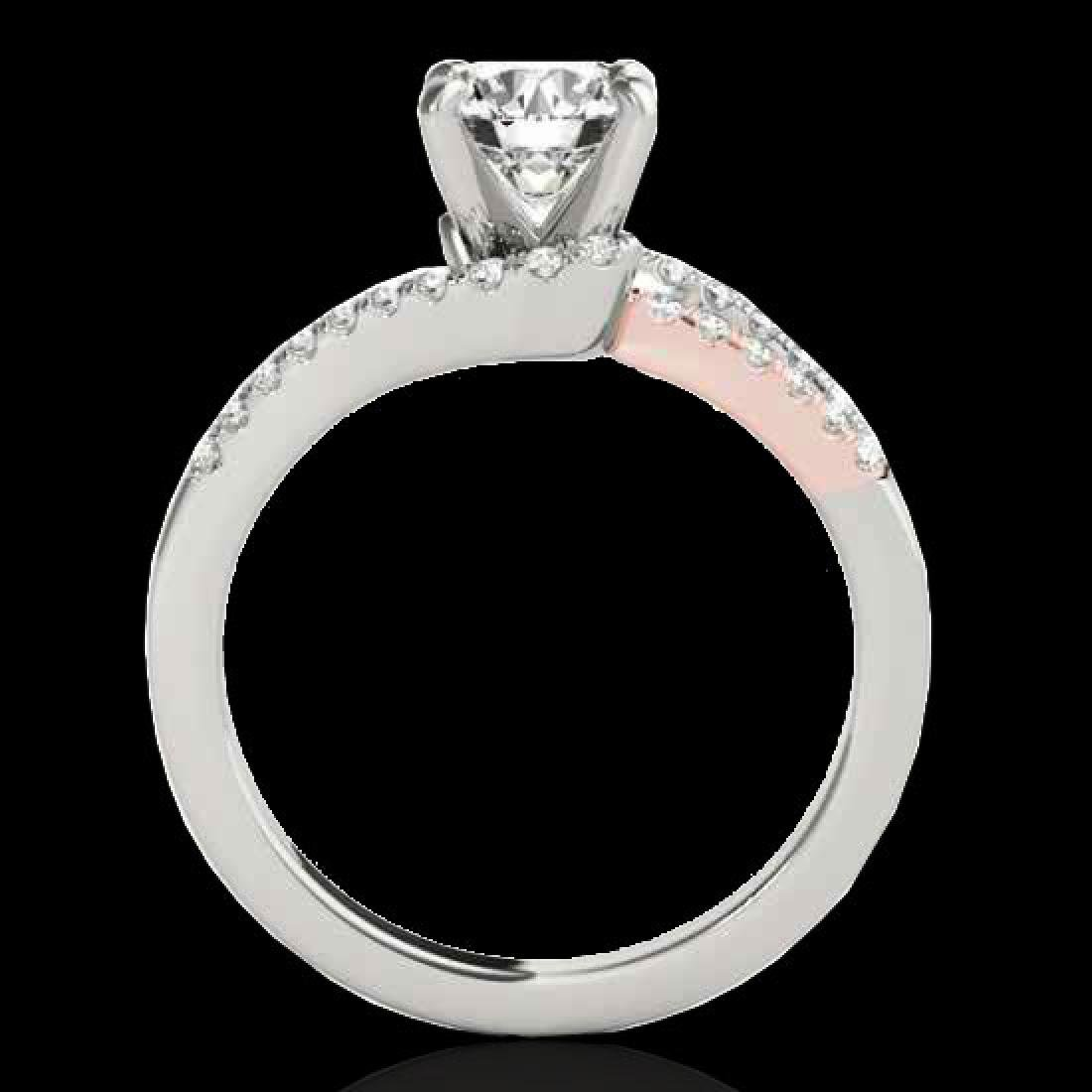1.65 CTW H-SI/I Certified Diamond Solitaire Ring 10K - 2