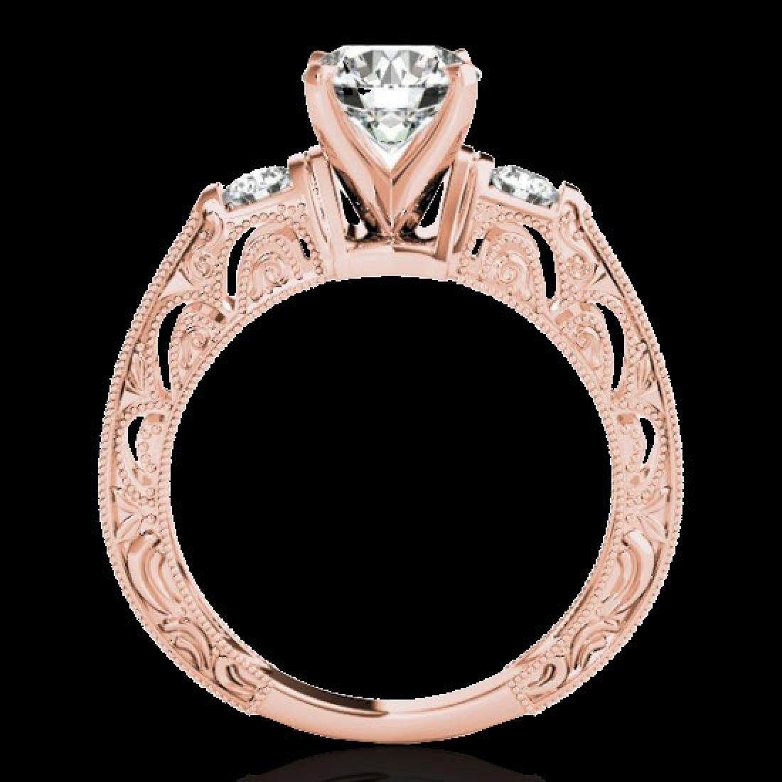 1.63 CTW H-SI/I Certified Diamond Solitaire Antique - 2
