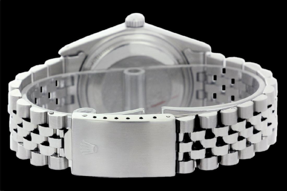 Rolex Men's Stainless Steel, QuickSet, Index Bar Dial - 3