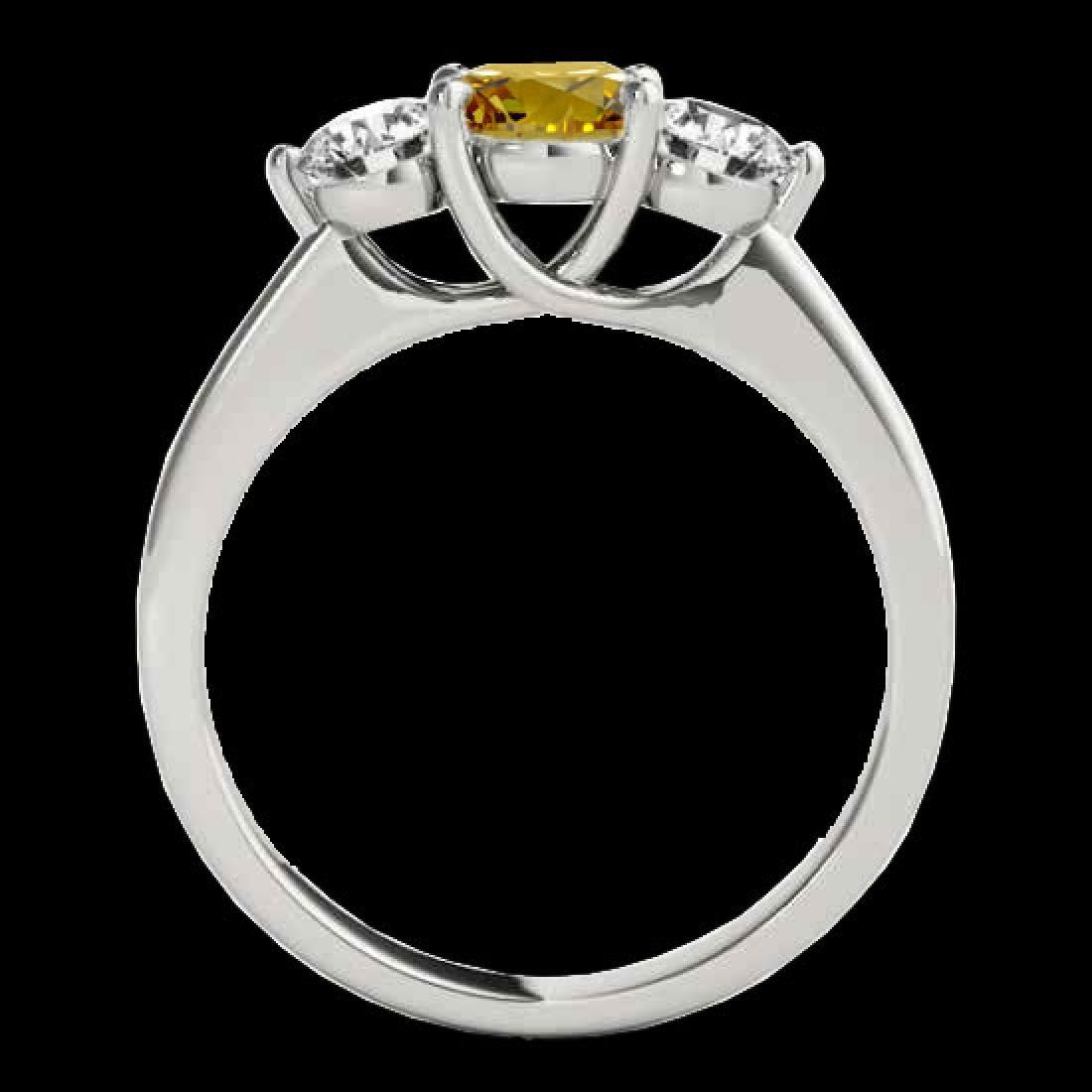 3 CTW Certified SI/I Fancy Intense Yellow Diamond 3 - 2