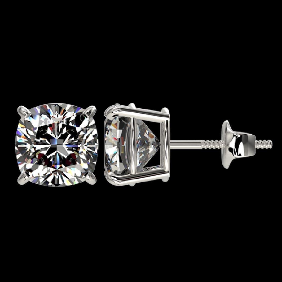 2.50 CTW Certified VS/SI Quality Cushion Cut Diamond - 2