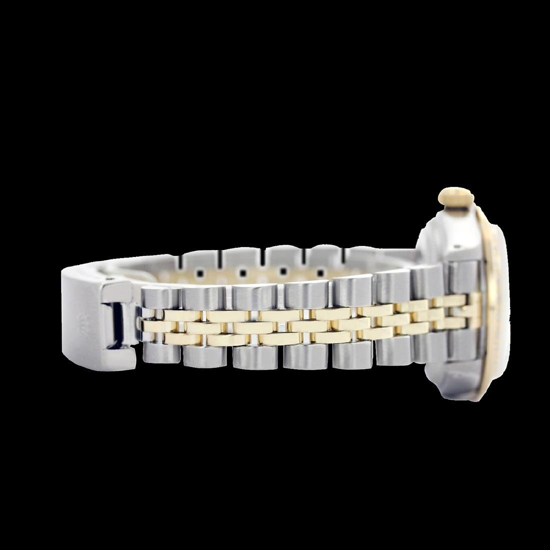 Rolex Men's Two Tone 14K Gold/SS, QuickSet, Diamond - 3