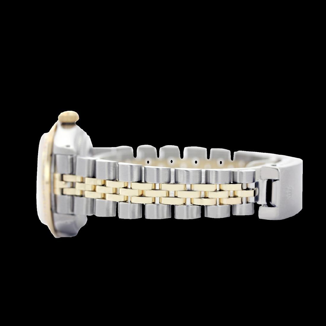 Rolex Ladies Two Tone 14K Gold/SS, Diamond Dial, - 3