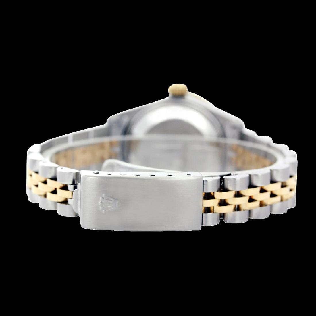 Rolex Ladies Two Tone 14K Gold/SS, Diamond Dial, - 4