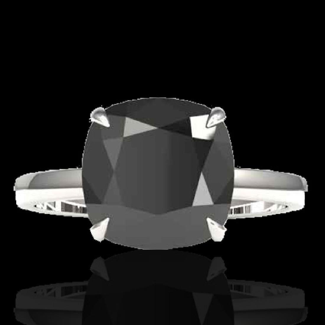 6 CTW Black VS/SI Diamond Designer Inspired Engagement