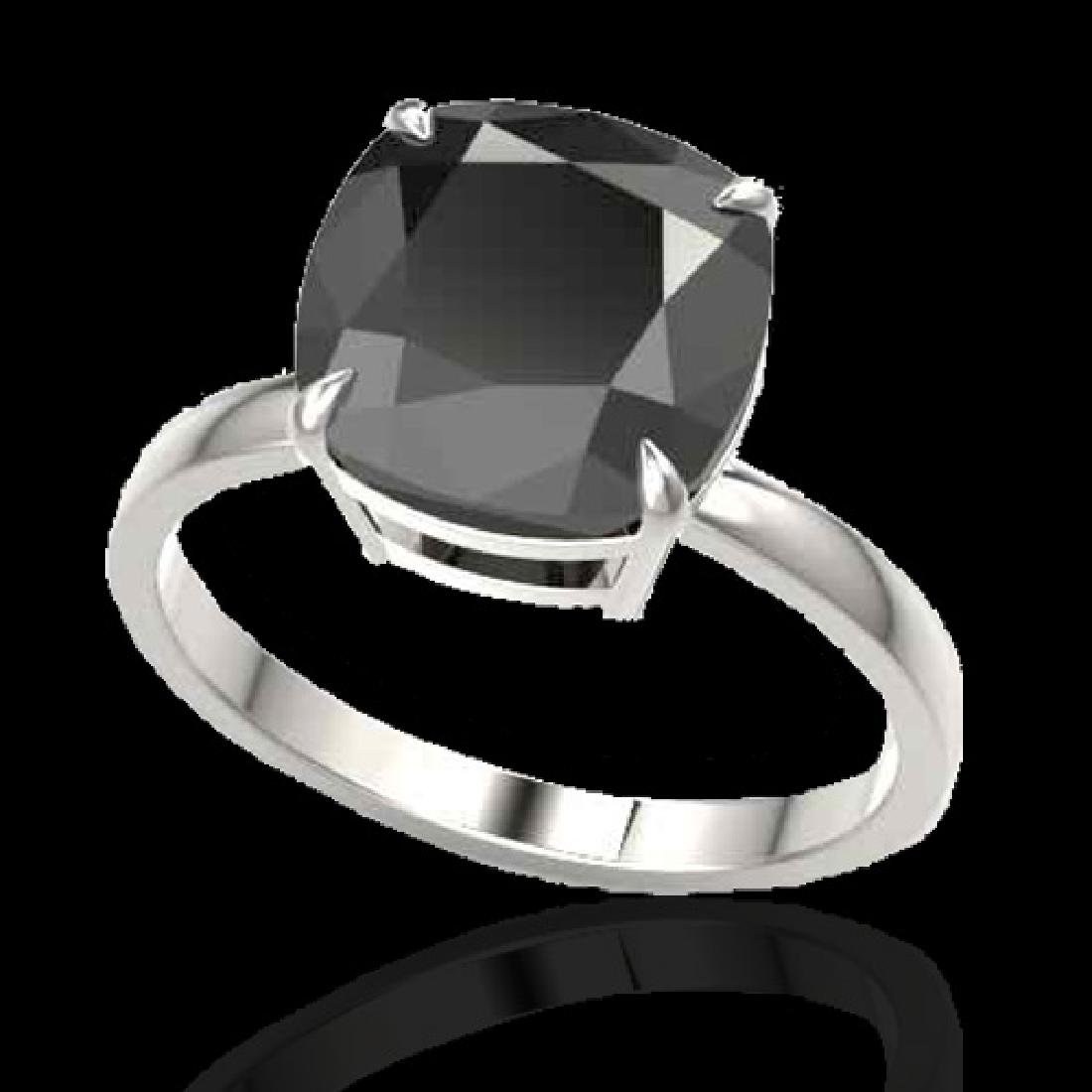 6 CTW Black VS/SI Diamond Designer Inspired Engagement - 2