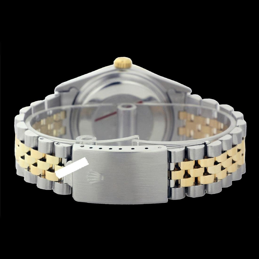 Rolex Ladies Two Tone 14K Gold/SS, Diam Dial & - 4