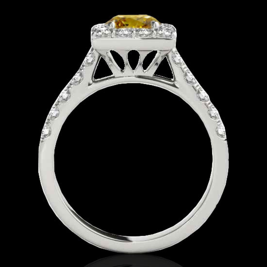 2.5 CTW Certified SI/I Fancy Intense Yellow Diamond - 2