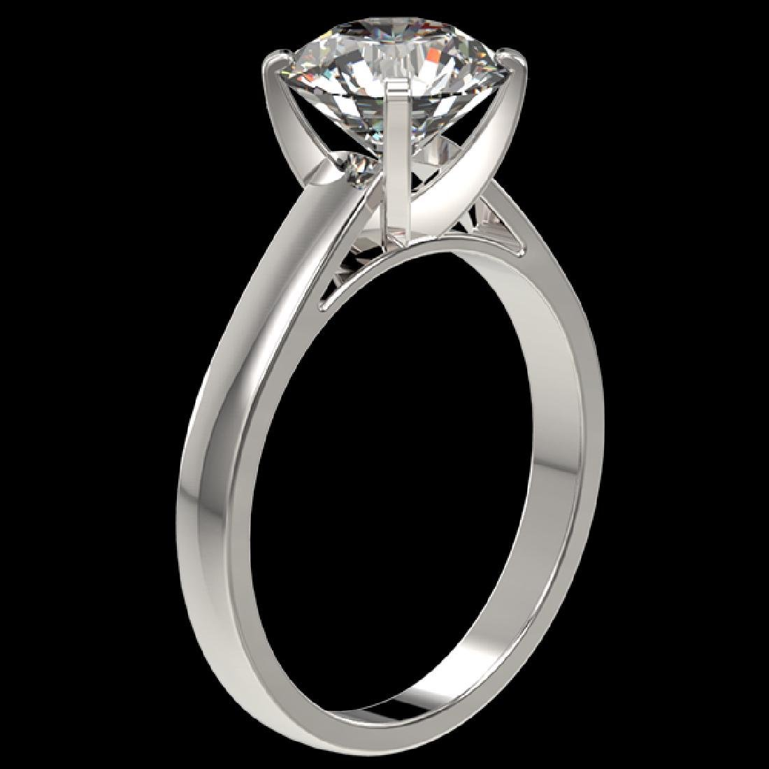 2.50 CTW Certified H-SI/I Quality Diamond Solitaire - 3