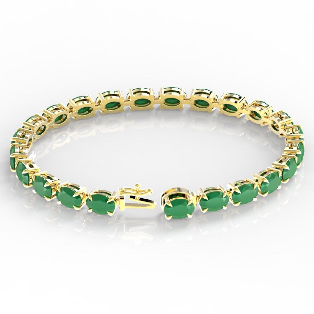 29 CTW Emerald Eternity Designer Inspired Tennis - 3