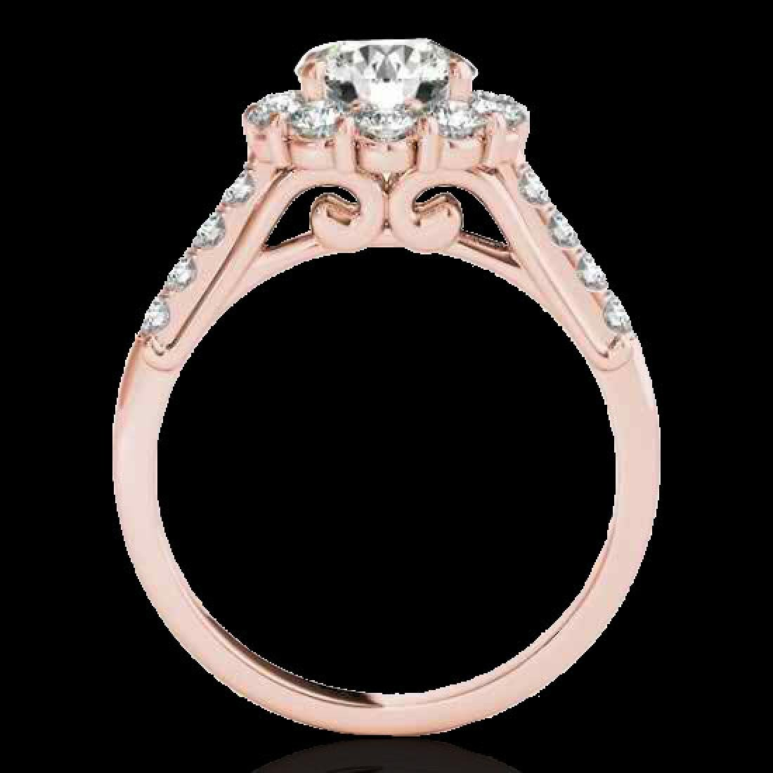 2.75 CTW H-SI/I Certified Diamond Solitaire Halo Ring - 2