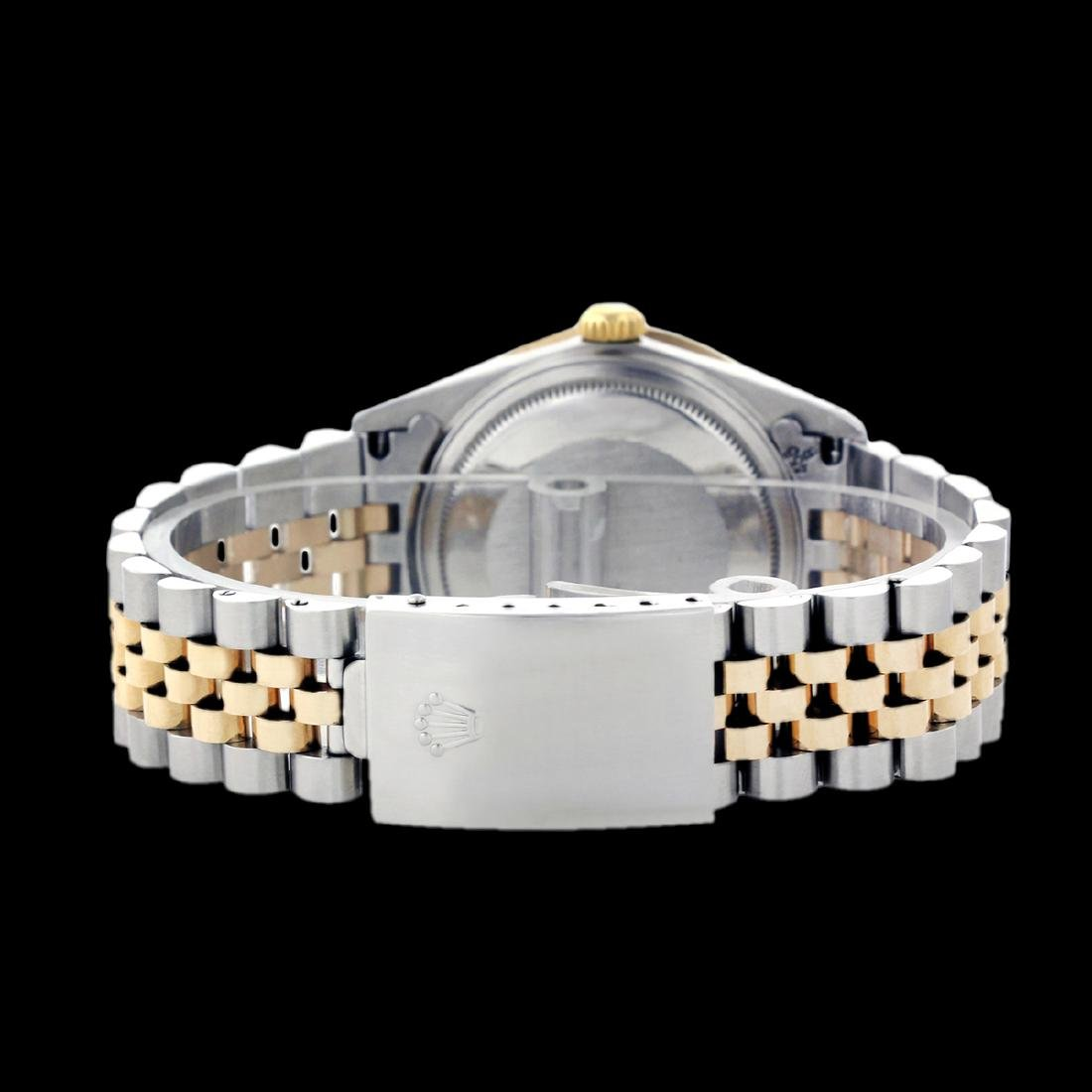 Rolex Ladies Two Tone 14K Gold/ss, Diamond Dial & - 3