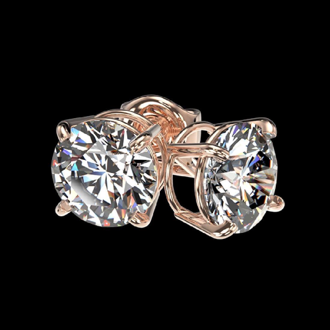1.57 CTW Certified H-SI/I Quality Diamond Solitaire - 3