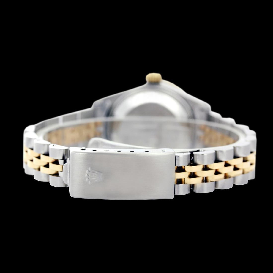 Rolex Men's Two Tone 14K Gold/SS, QuickSet, Roman Dial - 4