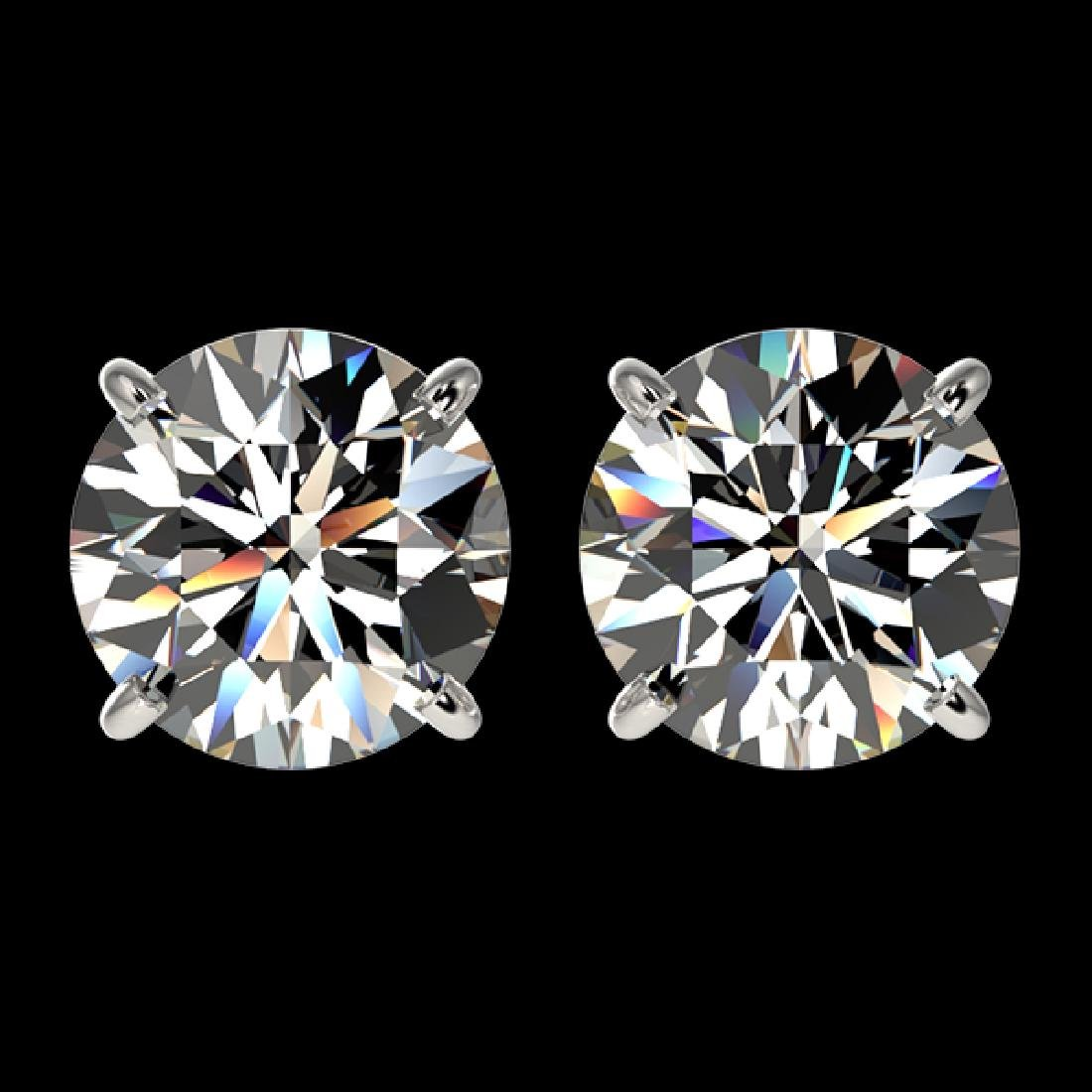2.59 CTW Certified H-SI/I Quality Diamond Solitaire