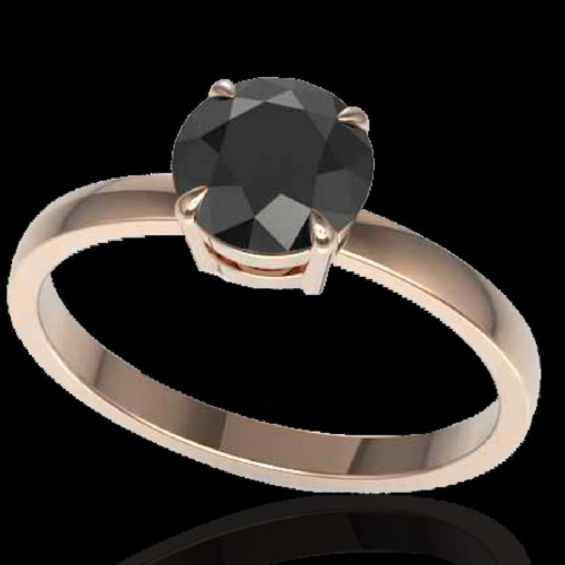 2 CTW Black VS/SI Diamond Designer Inspired Engagement - 2