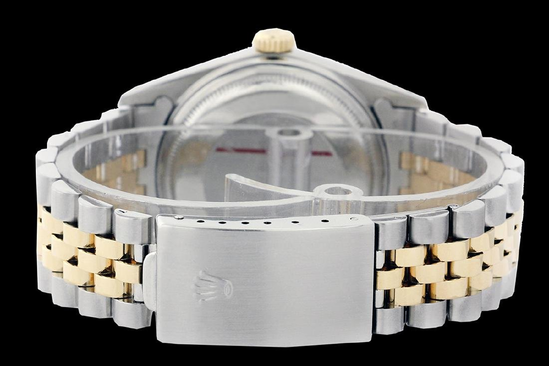 Rolex Ladies Two Tone 14K Gold/SS, Diam Pave Dial & - 3
