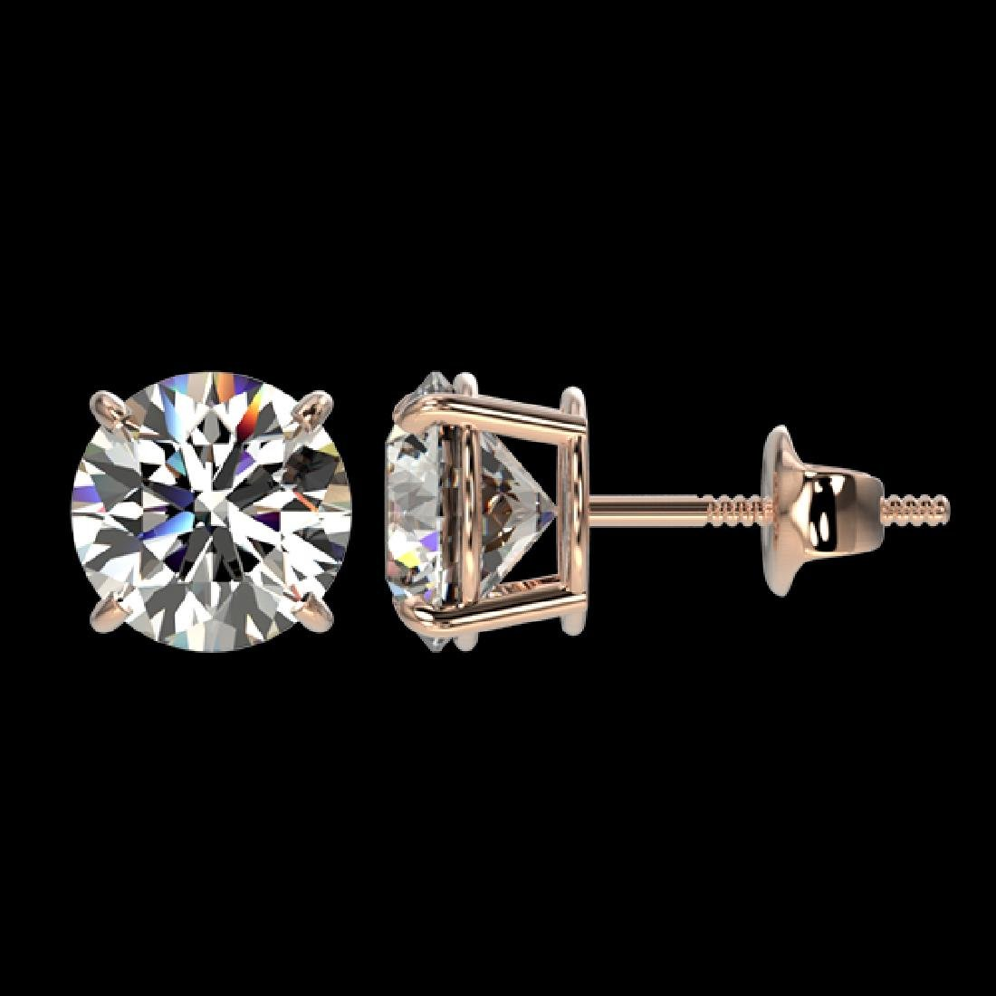 1.91 CTW Certified H-SI/I Quality Diamond Solitaire - 2