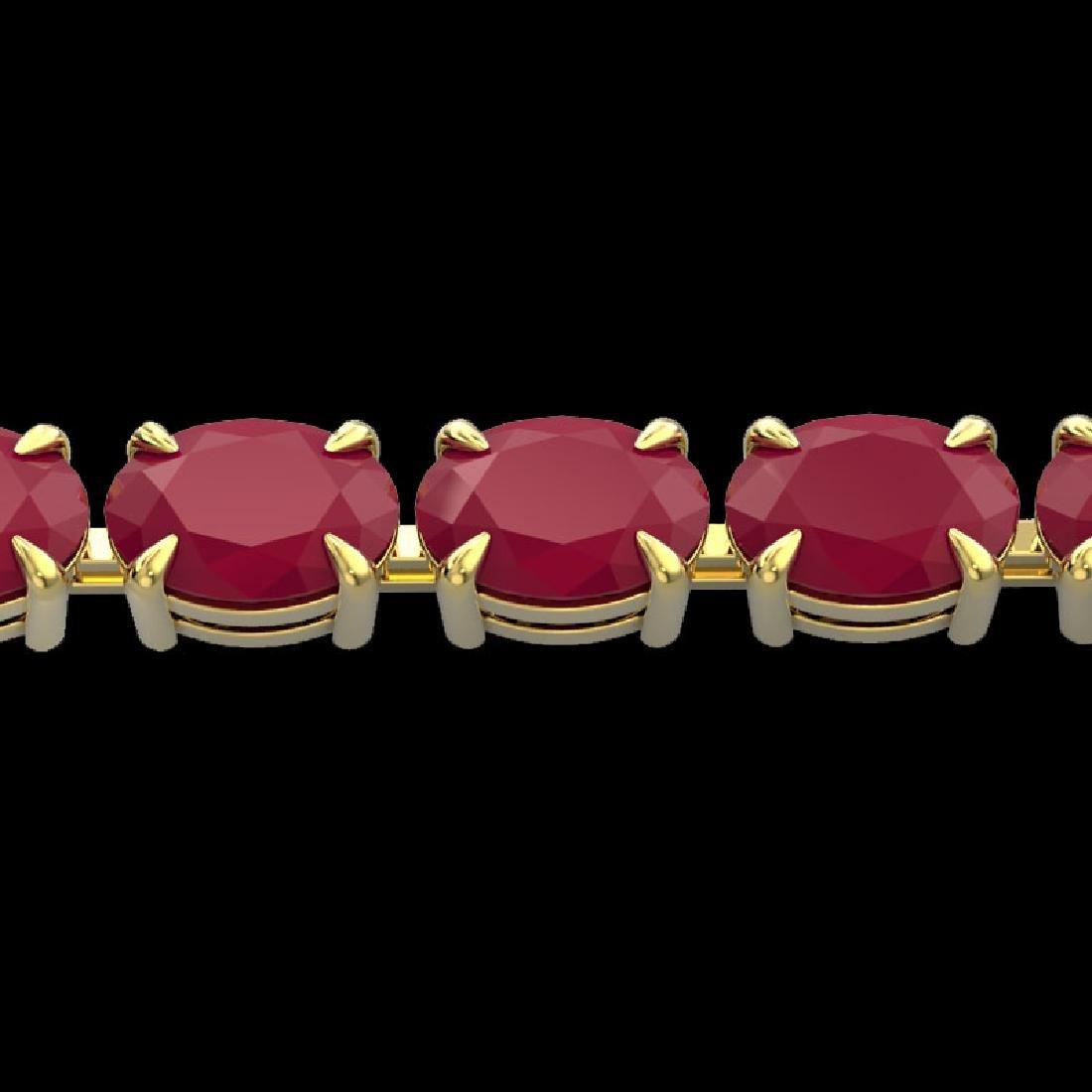 29 CTW Ruby Eternity Designer Inspired Tennis Bracelet