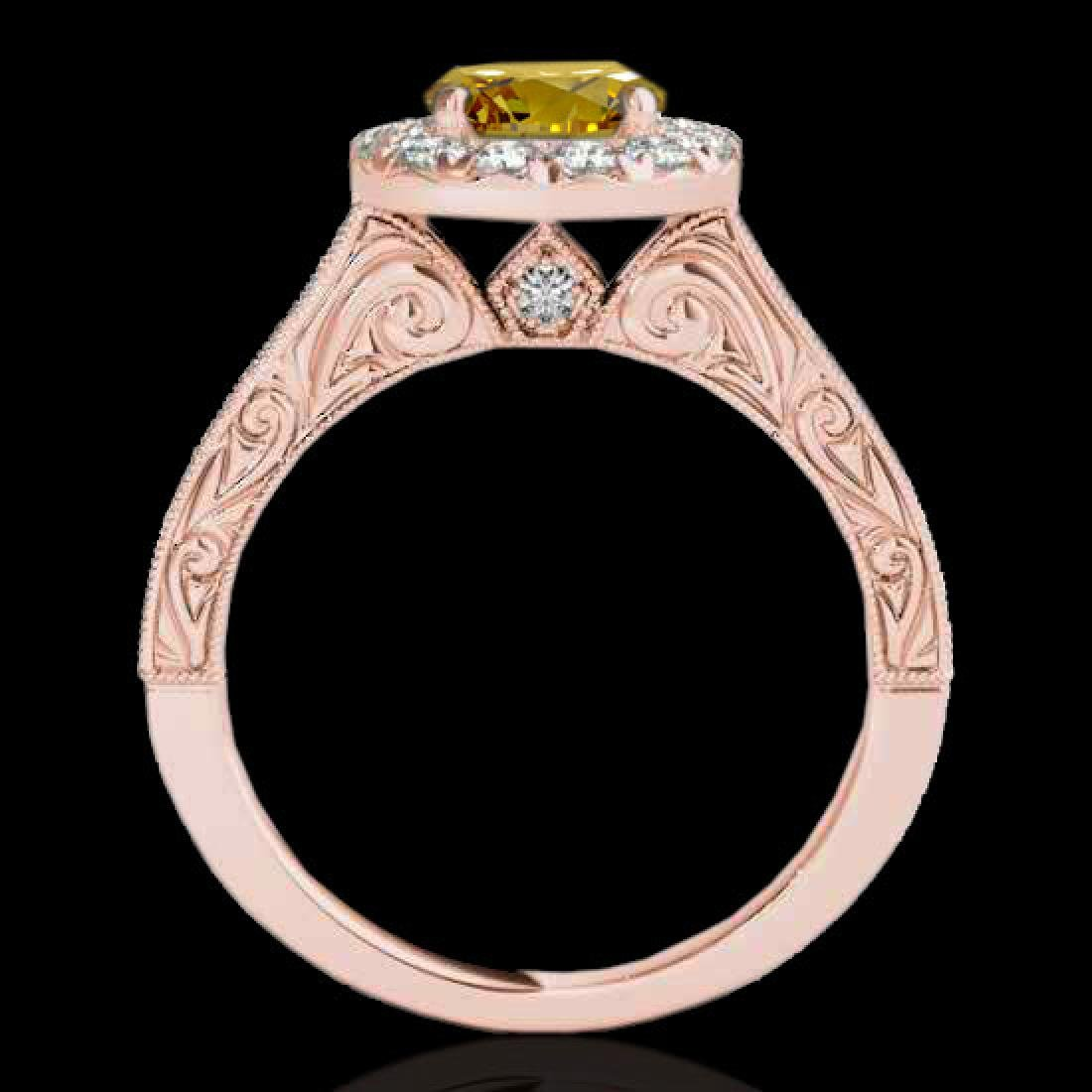 2.22 CTW Certified SI/I Fancy Intense Yellow Diamond - 2