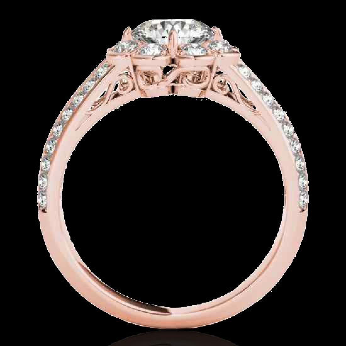 2.05 2.05 CTW H-SI/I Certified Diamond Solitaire Halo - 2