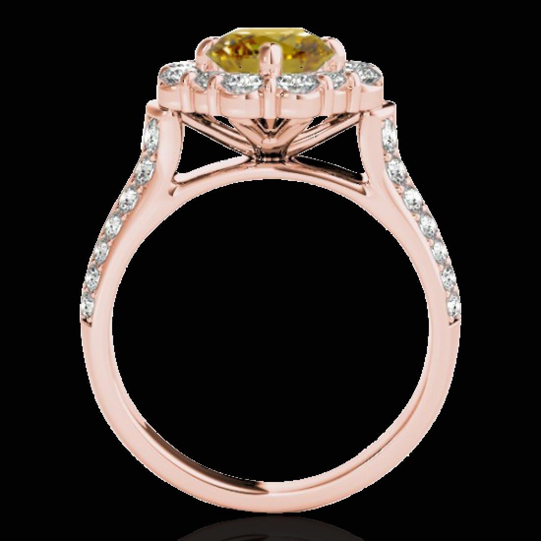 2.16 CTW Certified SI/I Fancy Intense Yellow Diamond - 2