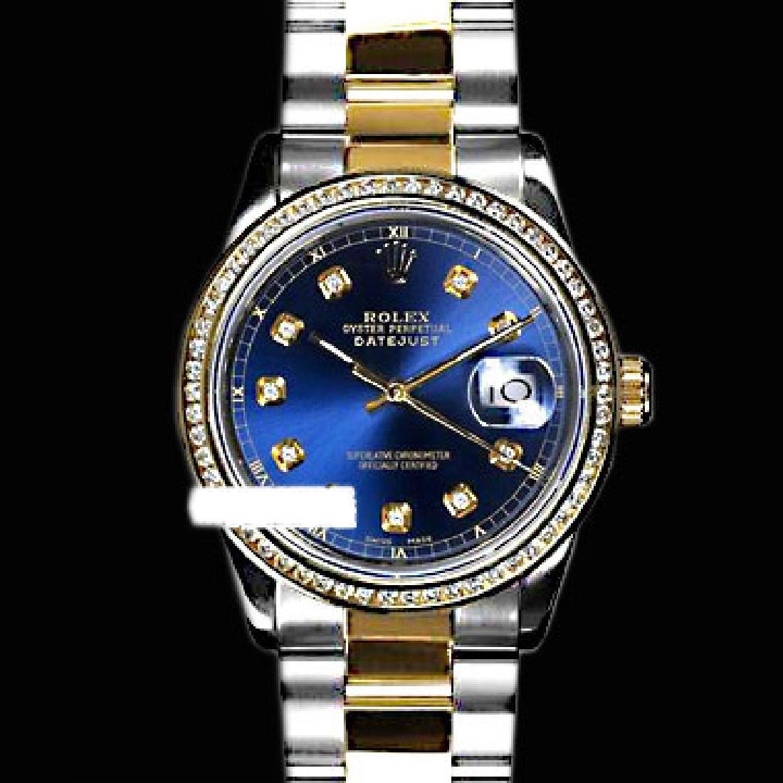 Rolex Ladies Two Tone 14K Gold/SS, Diamond Dial & - 3