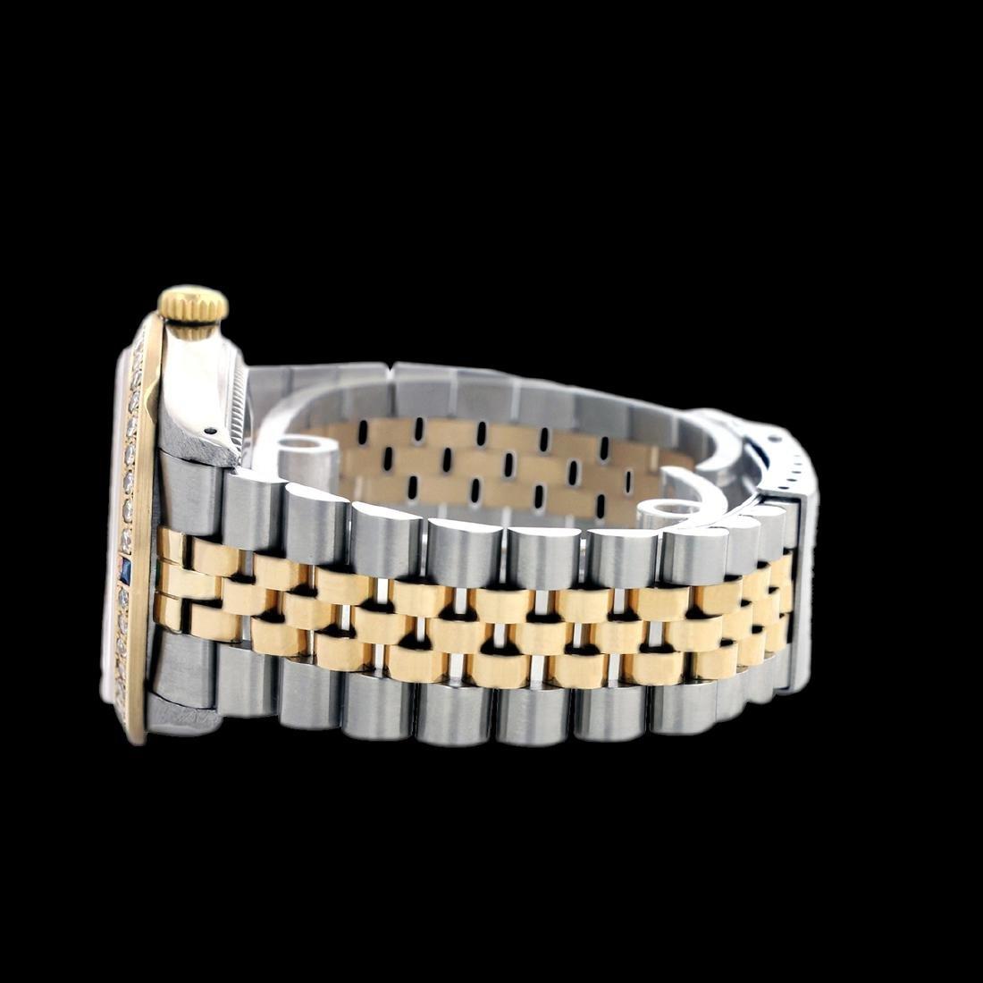 Rolex Men's Two Tone, QuickSet, Diam Dial & - 3