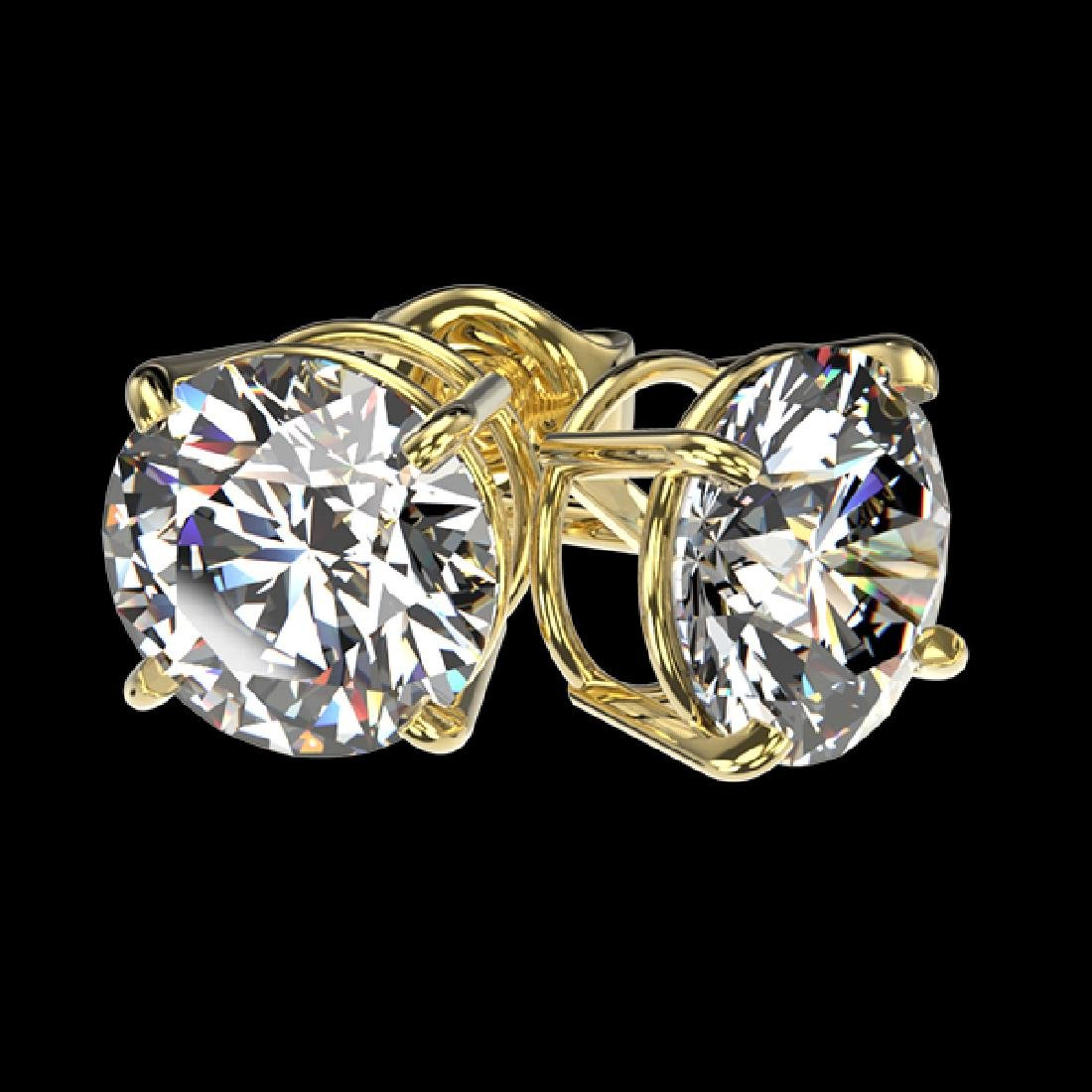 1.91 CTW Certified H-SI/I Quality Diamond Solitaire - 3