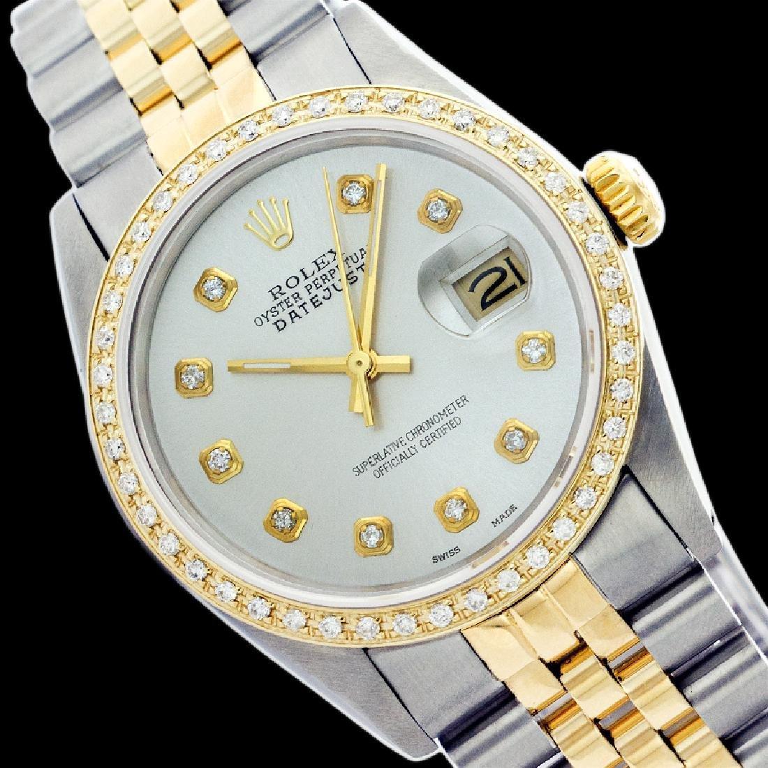 Rolex Ladies Two Tone 14K Gold/SS, Diamond Dial &