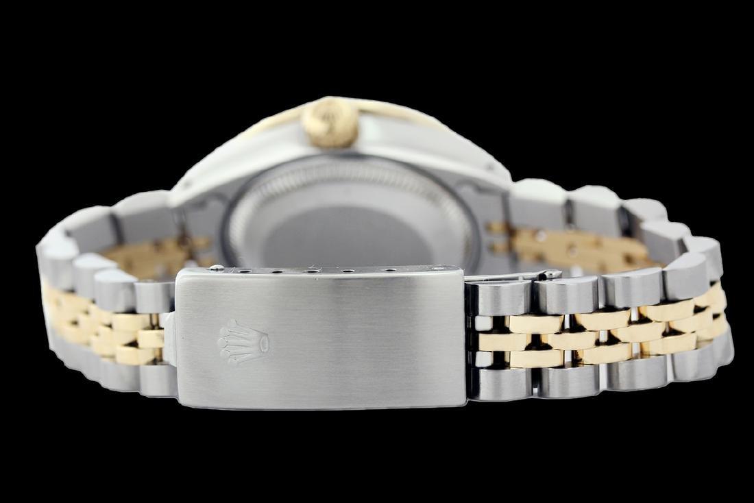 Rolex Ladies Two Tone 14K Gold/SS, Diam/Sapphire Dial & - 3