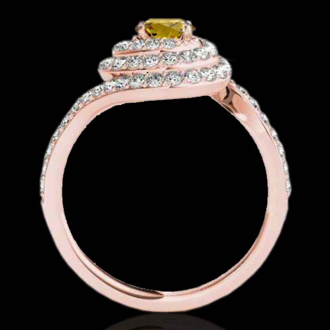 2.11 CTW Certified SI/I Fancy Intense Yellow Diamond - 2