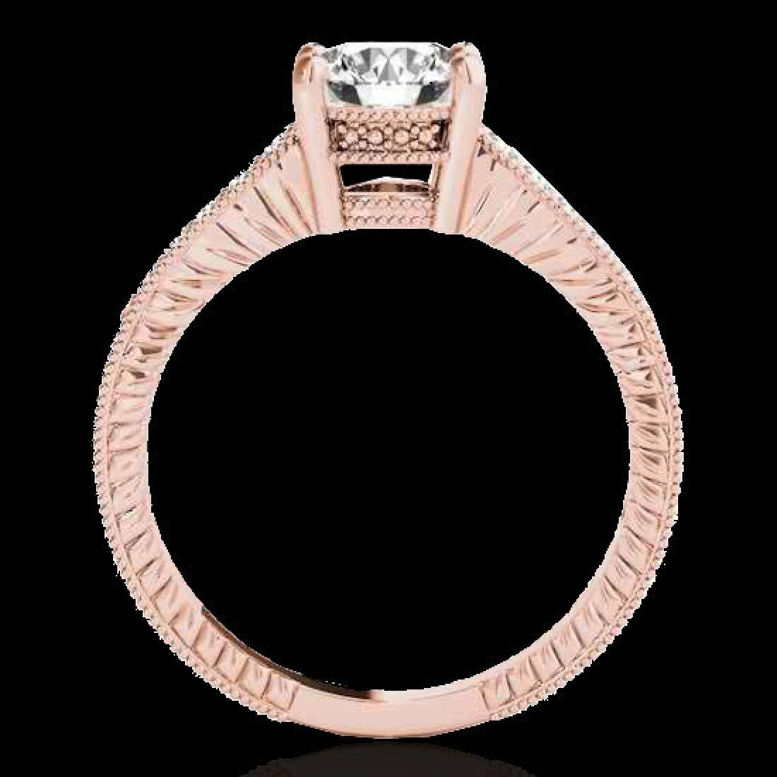 1.45 CTW H-SI/I Certified Diamond Solitaire Antique - 2