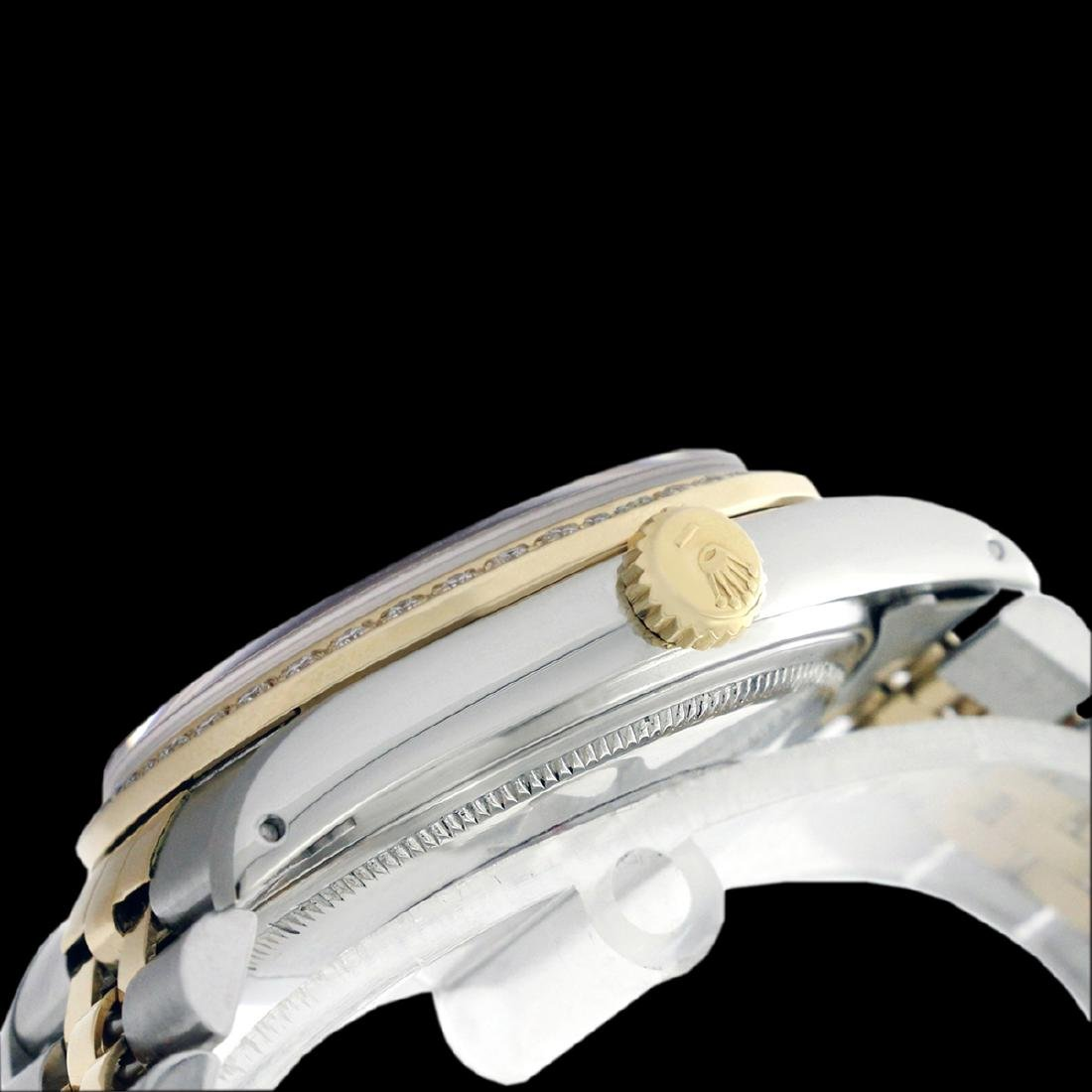 Rolex Ladies Two Tone 14K Gold/SS , Diamond Dial & - 4