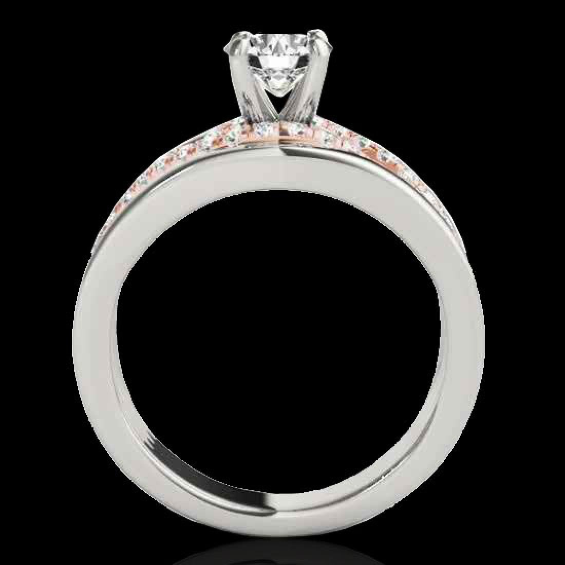 1.55 CTW H-SI/I Certified Diamond Solitaire Ring 10K - 2