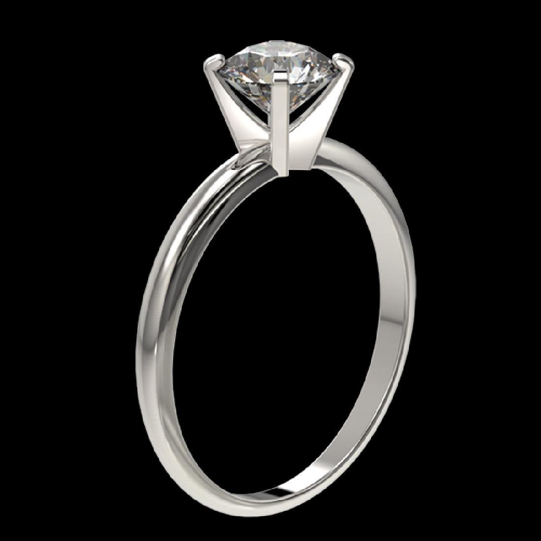 1.06 CTW Certified H-SI/I Quality Diamond Solitaire - 3