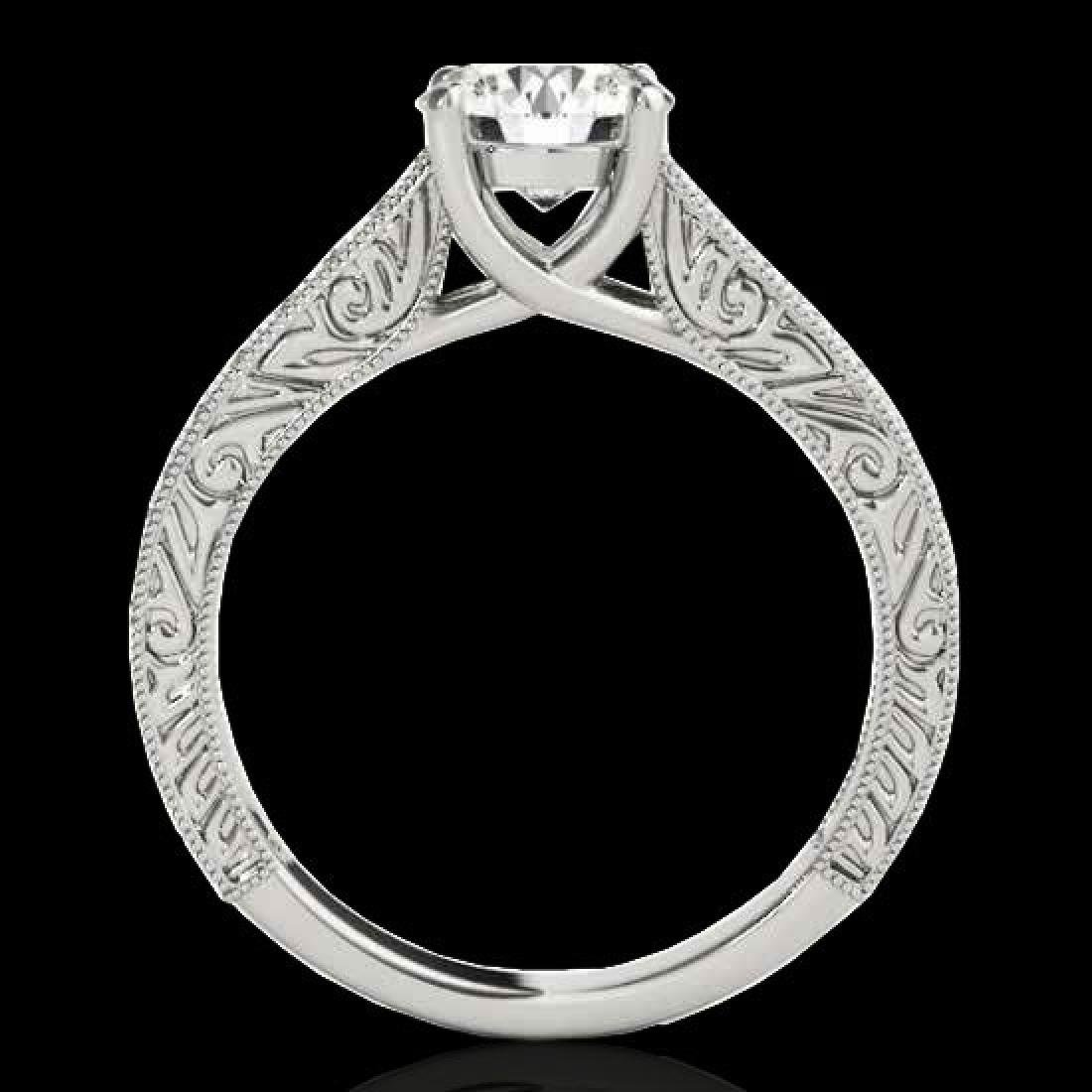 1.82 CTW H-SI/I Certified Diamond Solitaire Ring 10K - 2