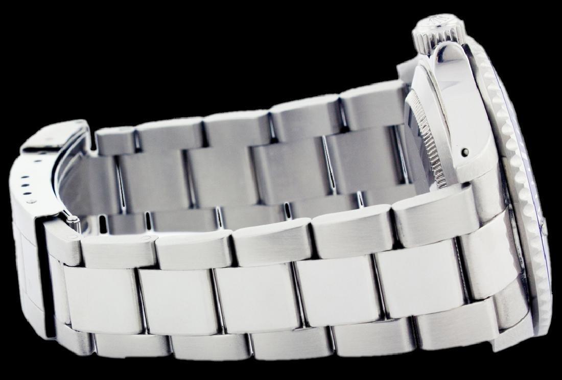 Rolex Men's Submariner, QuickSet, Diam Dial w/ - 3