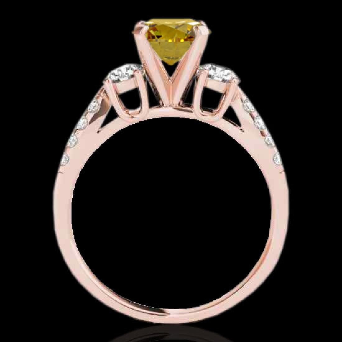 1.75 CTW Certified SI/I Fancy Intense Yellow Diamond 3 - 2