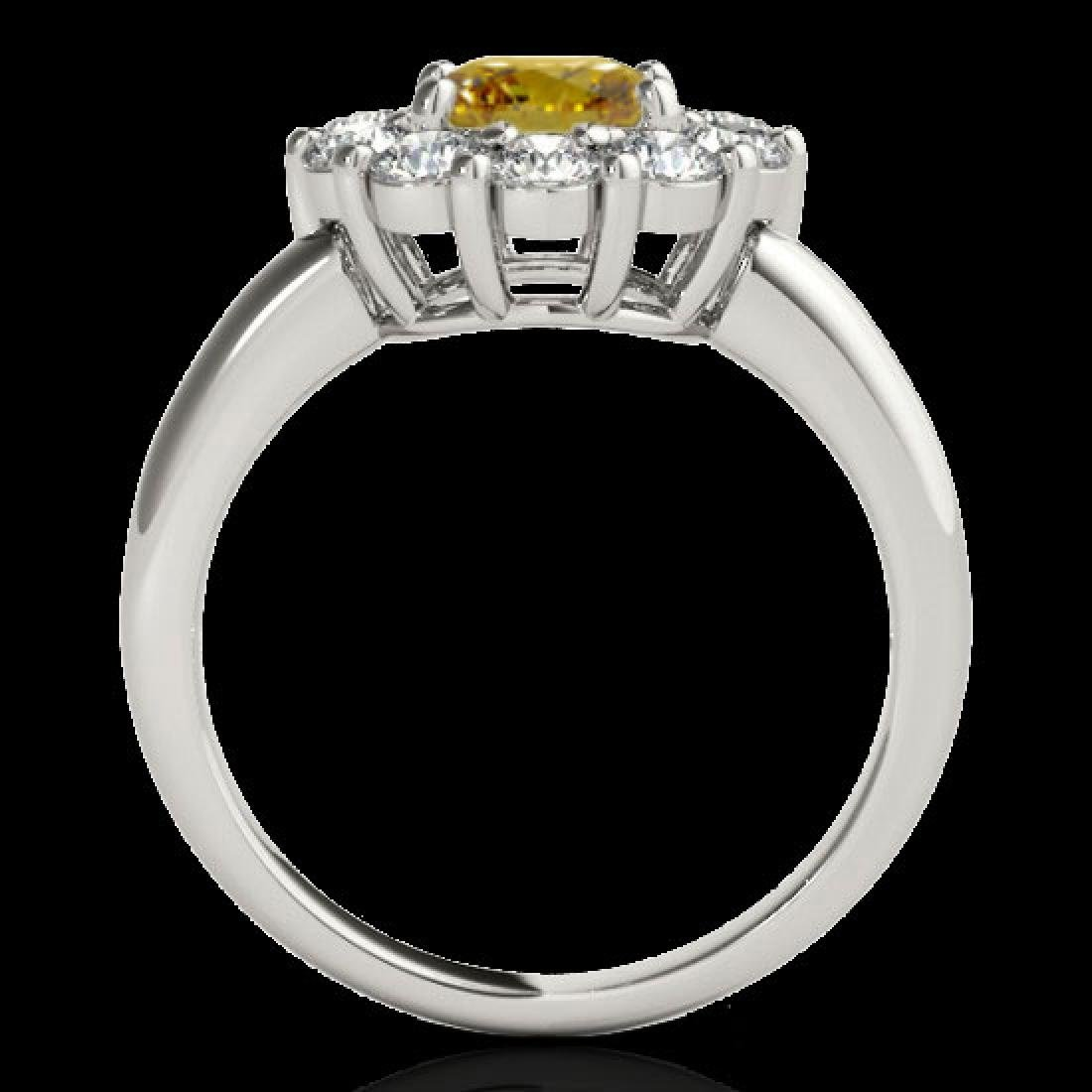 2.85 CTW Certified SI/I Fancy Intense Yellow Diamond - 2