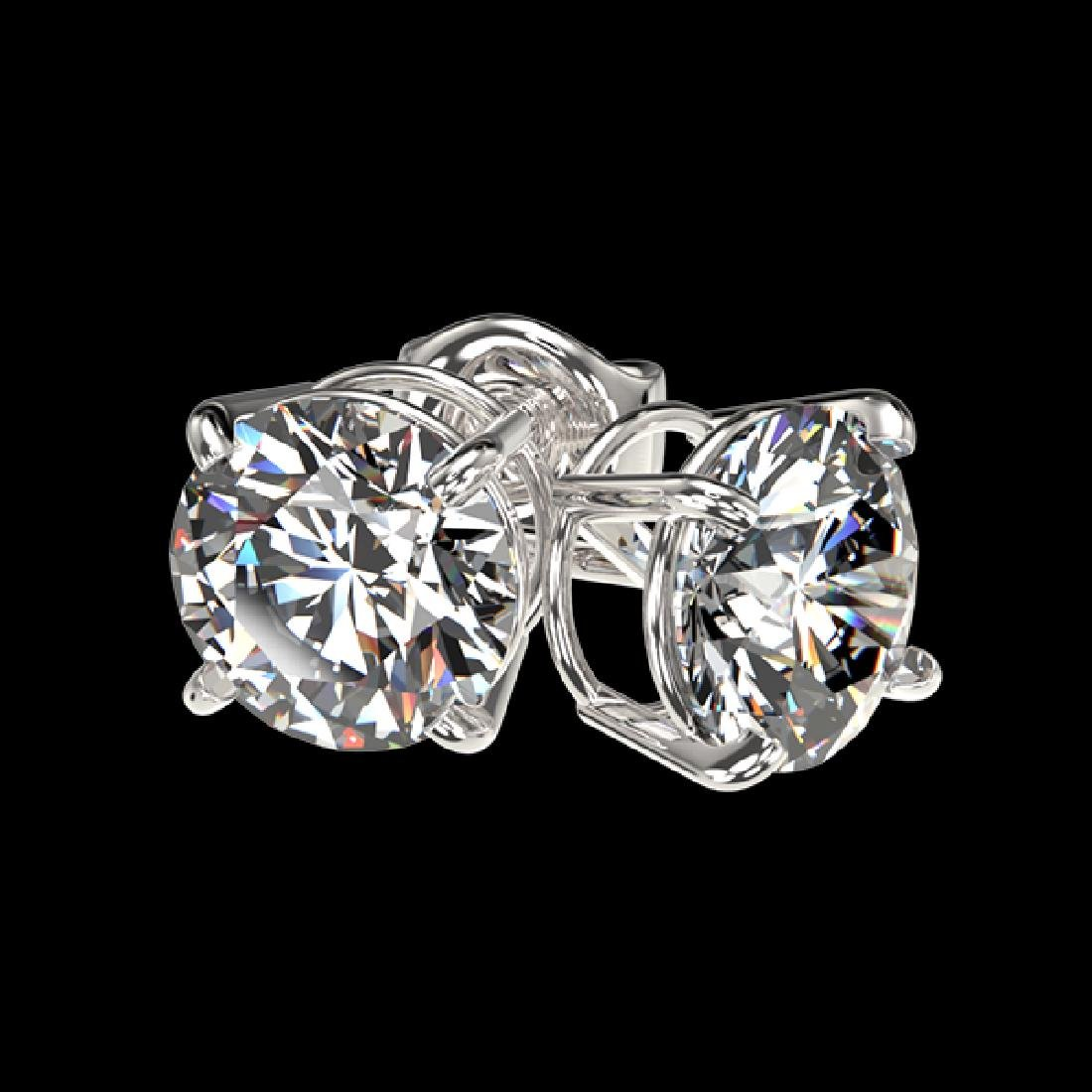 1.52 CTW Certified H-SI/I Quality Diamond Solitaire - 3